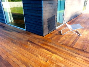 Ebony cladding Enhancer deck